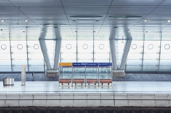 Interior #01 | Frankfurt am Main Flughafen Fernbahnhof | MAIPLATZ FOTOGRAFIE