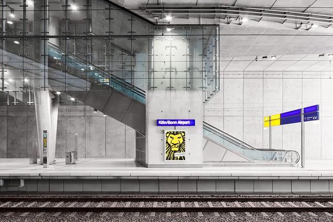 Interior #01 | Köln Bonn Airport Station | MAIPLATZ FOTOGRAFIE